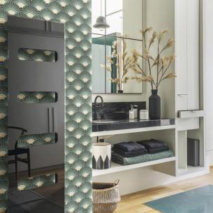 Sèche-serviette rayonnant et soufflant contemporain IC ELITE 1 de la marque Campa
