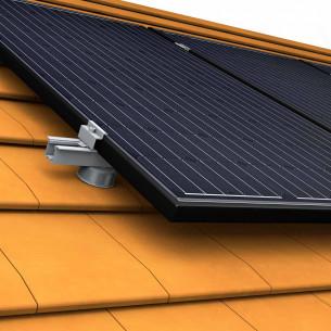 Kit Autoconsommation Photovoltaique surimpose en Toiture de Groupe Solution Energie