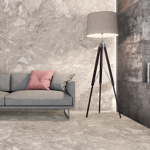 Collection Belcastel par Tau Ceramica en coloris Silver