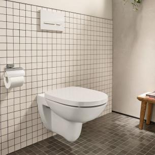 toilettes wc roca debba round suspendu