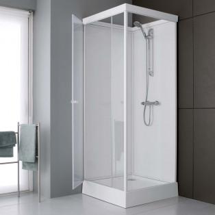 Cabine de douche complete Leda Cabine de douche intégrale en verre