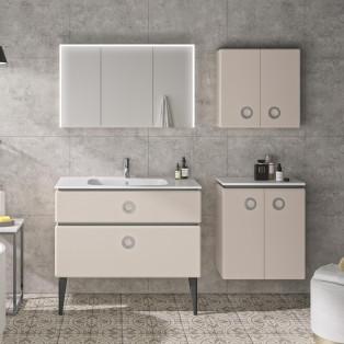 meuble salle de bain decotec jolie mome laque poudre mat