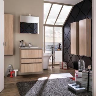 meubles de salle de bains Delpha Collection Unique modèle 63 cm
