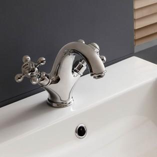 Mélangeur lavabo chromé Parigi de Cristina
