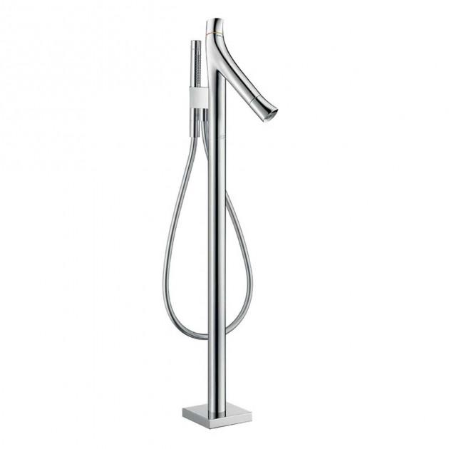 Mitigeur bain/douche sur pied pour baignoire Axor