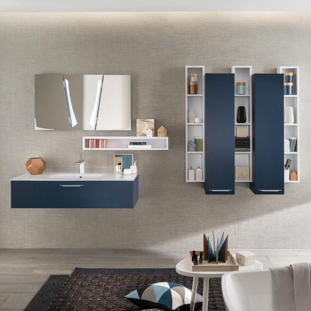 meubles de salle de bains Delpha collection Unique soft 120 cm