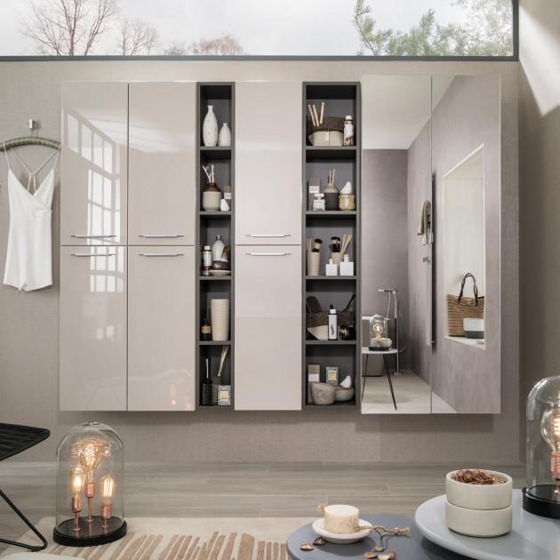 Idée déco : salle de bain gain place | Espace Aubade
