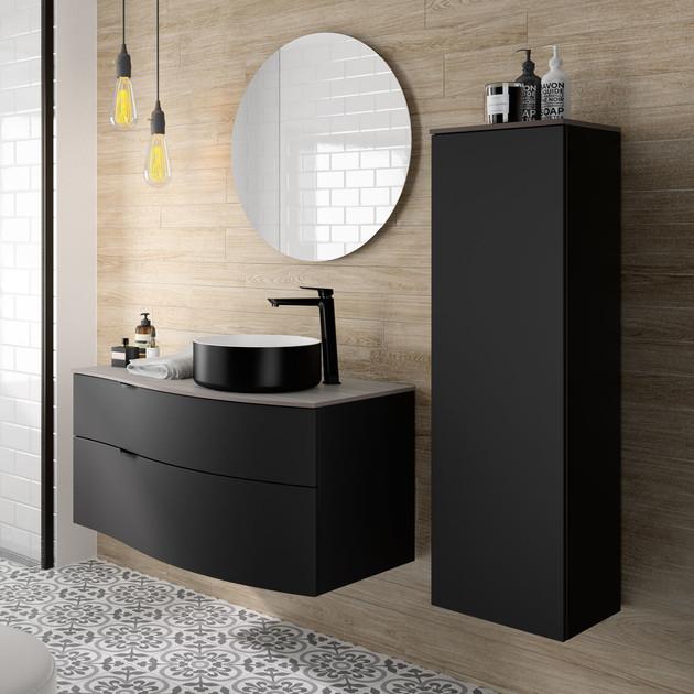 Meuble de salle de bains Stiletto de la marque Decotec