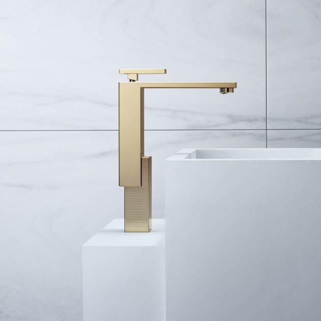 Mitigeur lavabo 280 Finition bronze poli AXOR Edge