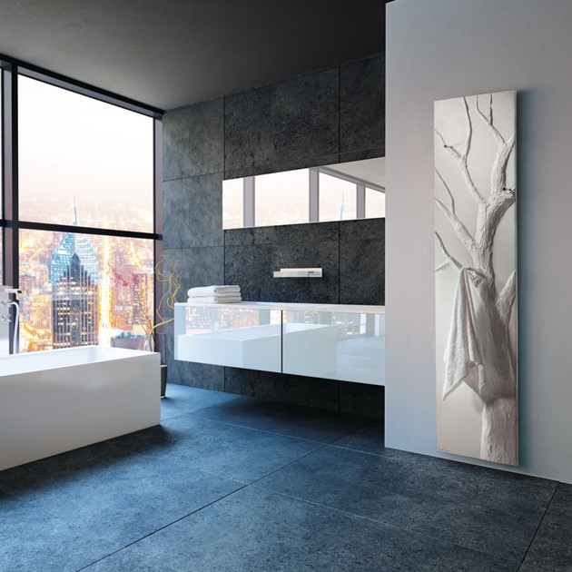 seche-serviettes cinier arbre bain