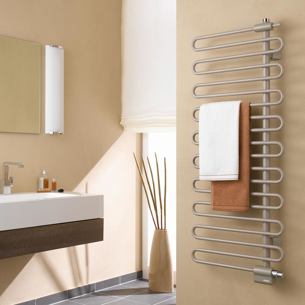 Sèche-serviettes eau chaude Icaro de Kermi