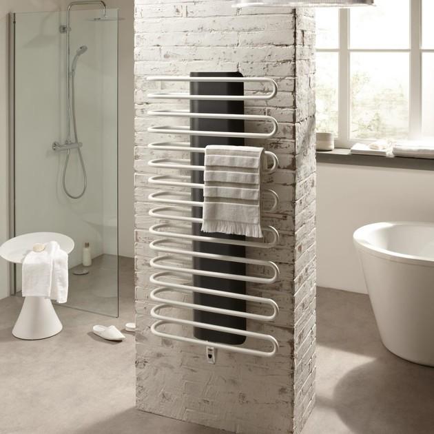 Sèche-serviettes eau chaude Finimetal Sanaga