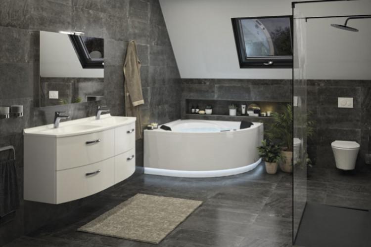 Salle de bains inspiration Classique Intemporel de Ambiance Bain