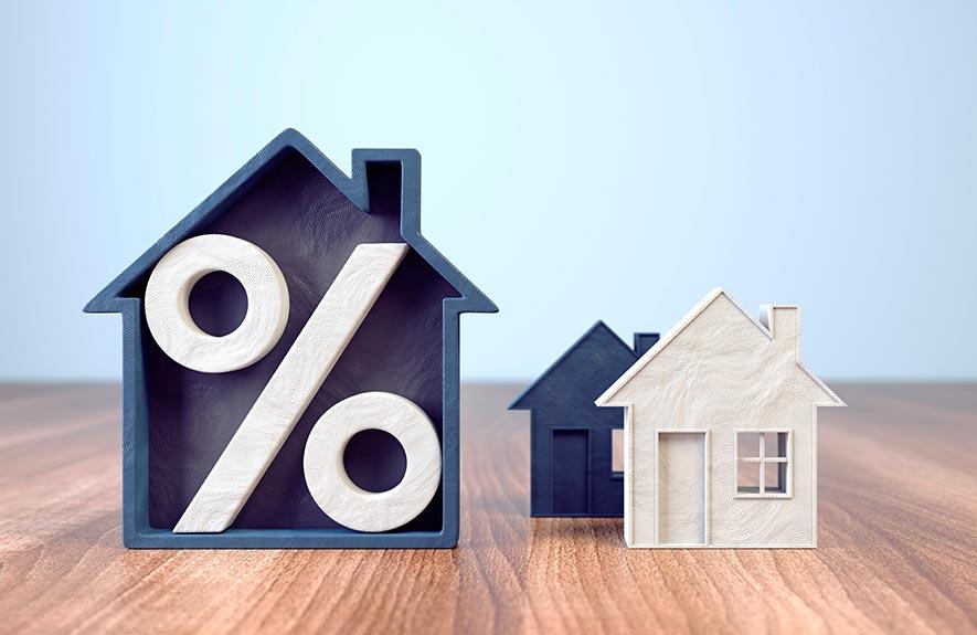 Petites maisons avec pourcentage