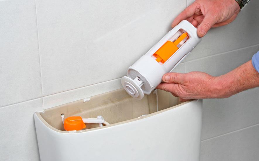 Rubrique salle de bains toilettes mécanisme WC