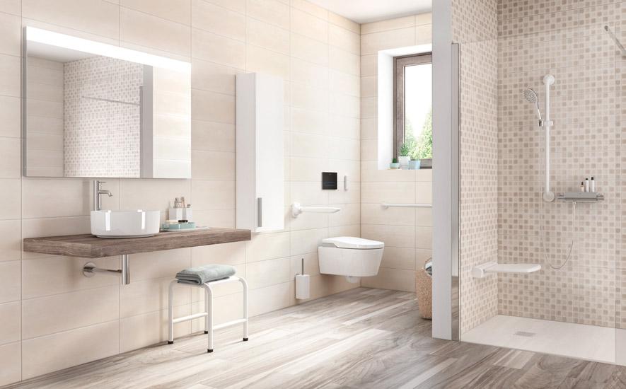 Rubrique salle de bains aide à la mobilité réduite