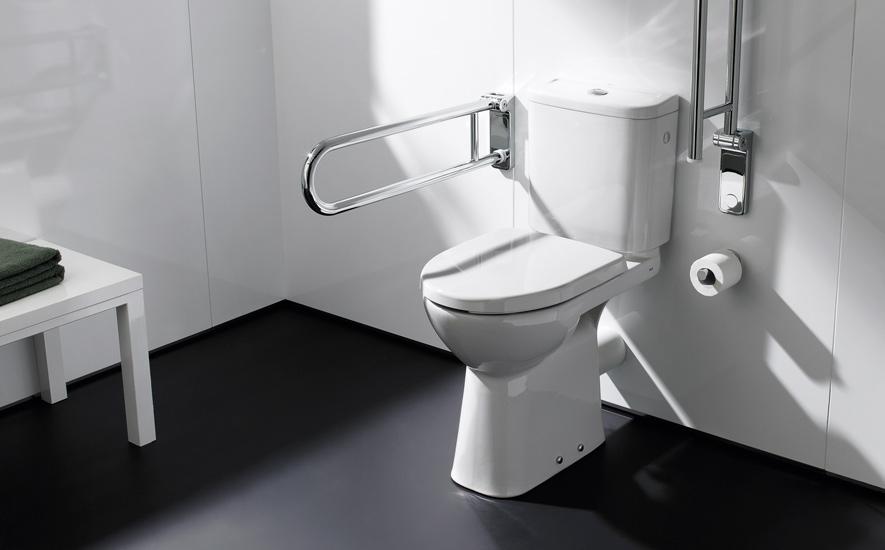 Rubrique salle de bains aide à la mobilité réduite wc pmr