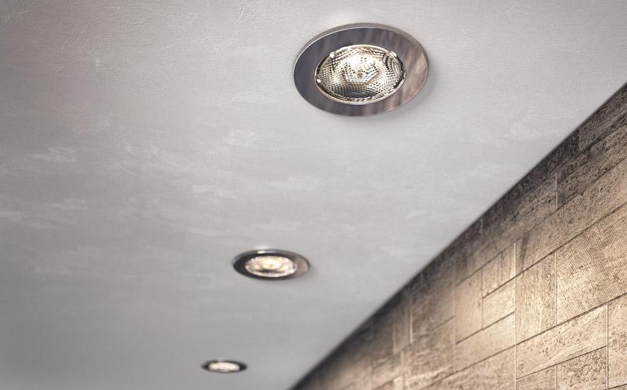 Rubrique salle de bains luminaire encastré
