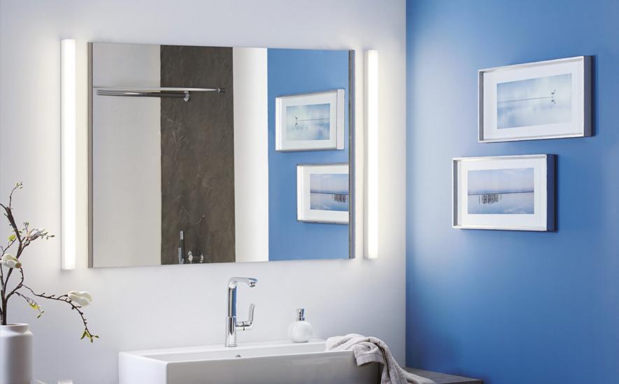 Rubrique salle de bains luminaire réglettes
