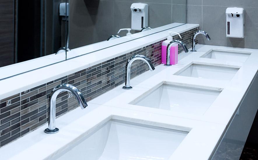 Rubrique salle de bains sanitaire collectif lavabos collectifs