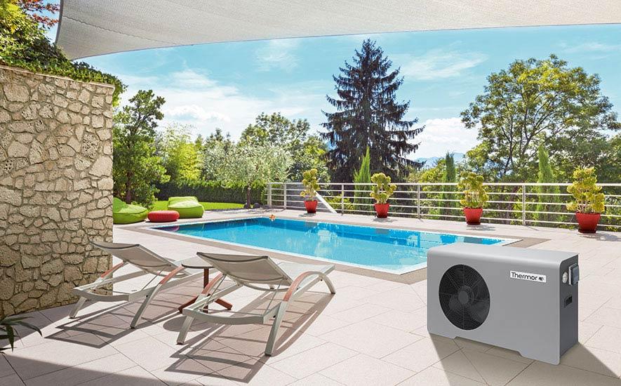Rubrique chauffage pompe à chaleur piscine