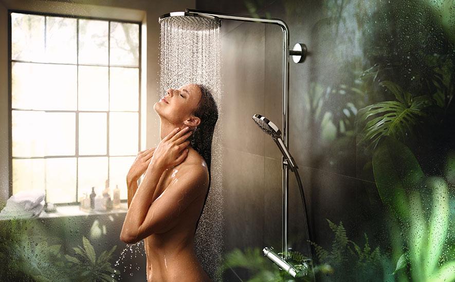 Rubrique salle de bains douche