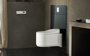 Toilettes : WC suspendu, broyeur WC, abattant WC | Espace Aubade