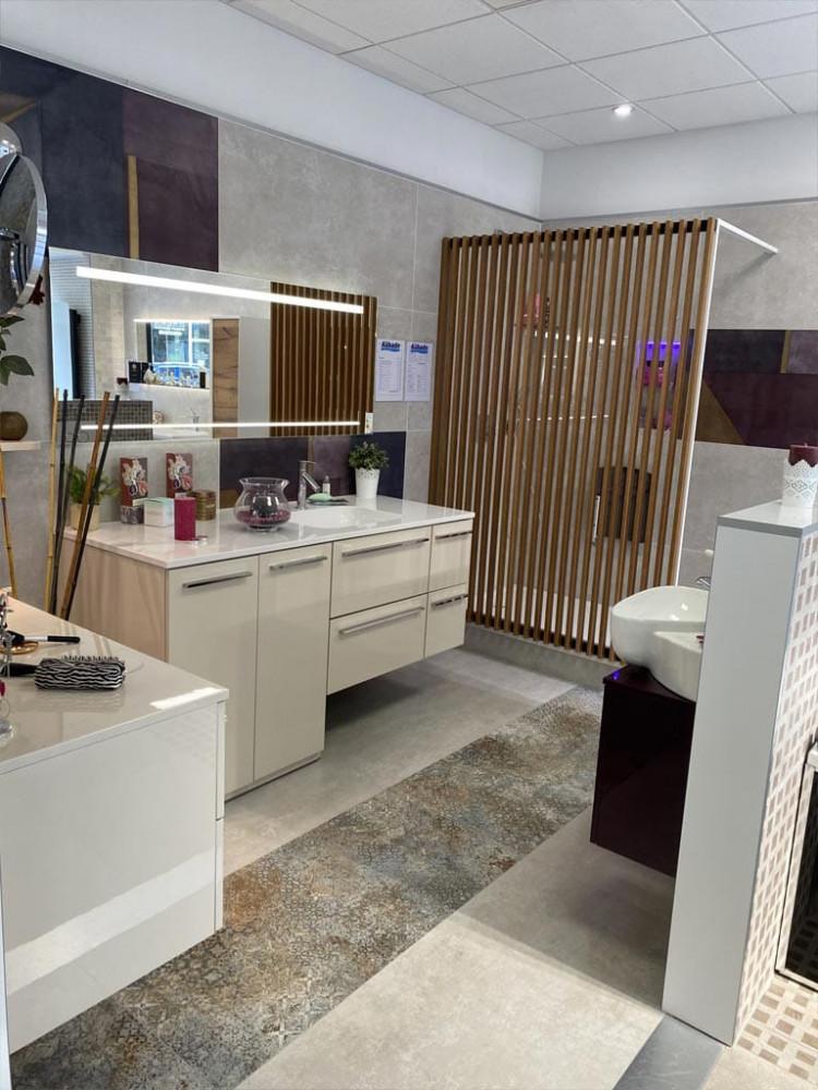 Magasin salle de bains & carrelage à Paris 02