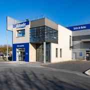 façade du magasin Schmitt-Ney à Gennevilliers