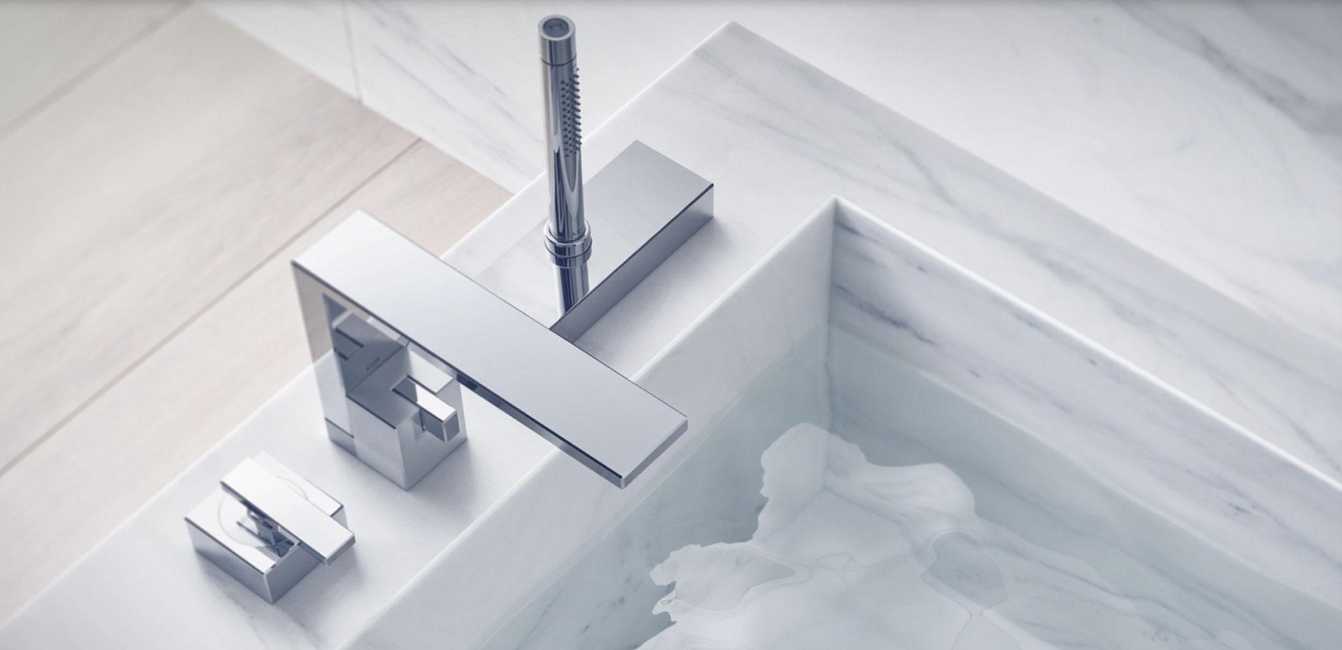 Collection de mitigeurs de lavabo Edge Hansgrohe