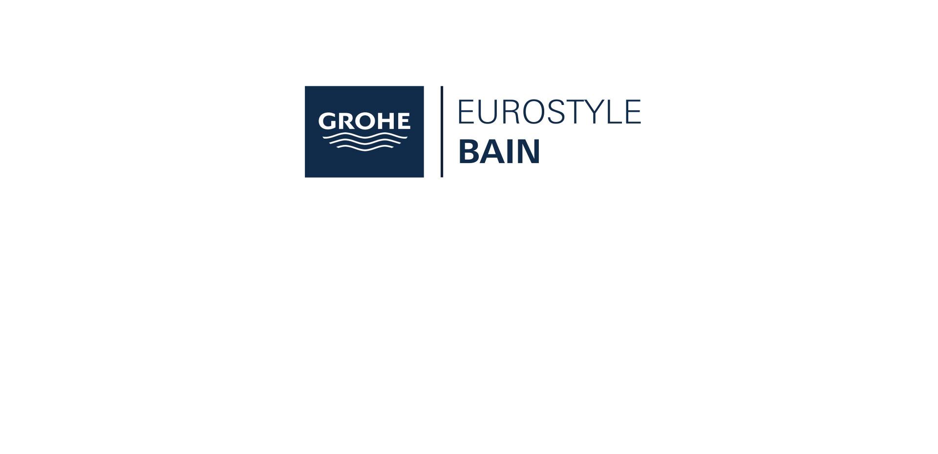 Mitigeur monocommande Bain / Douche Eurostyle Chromé de Grohe