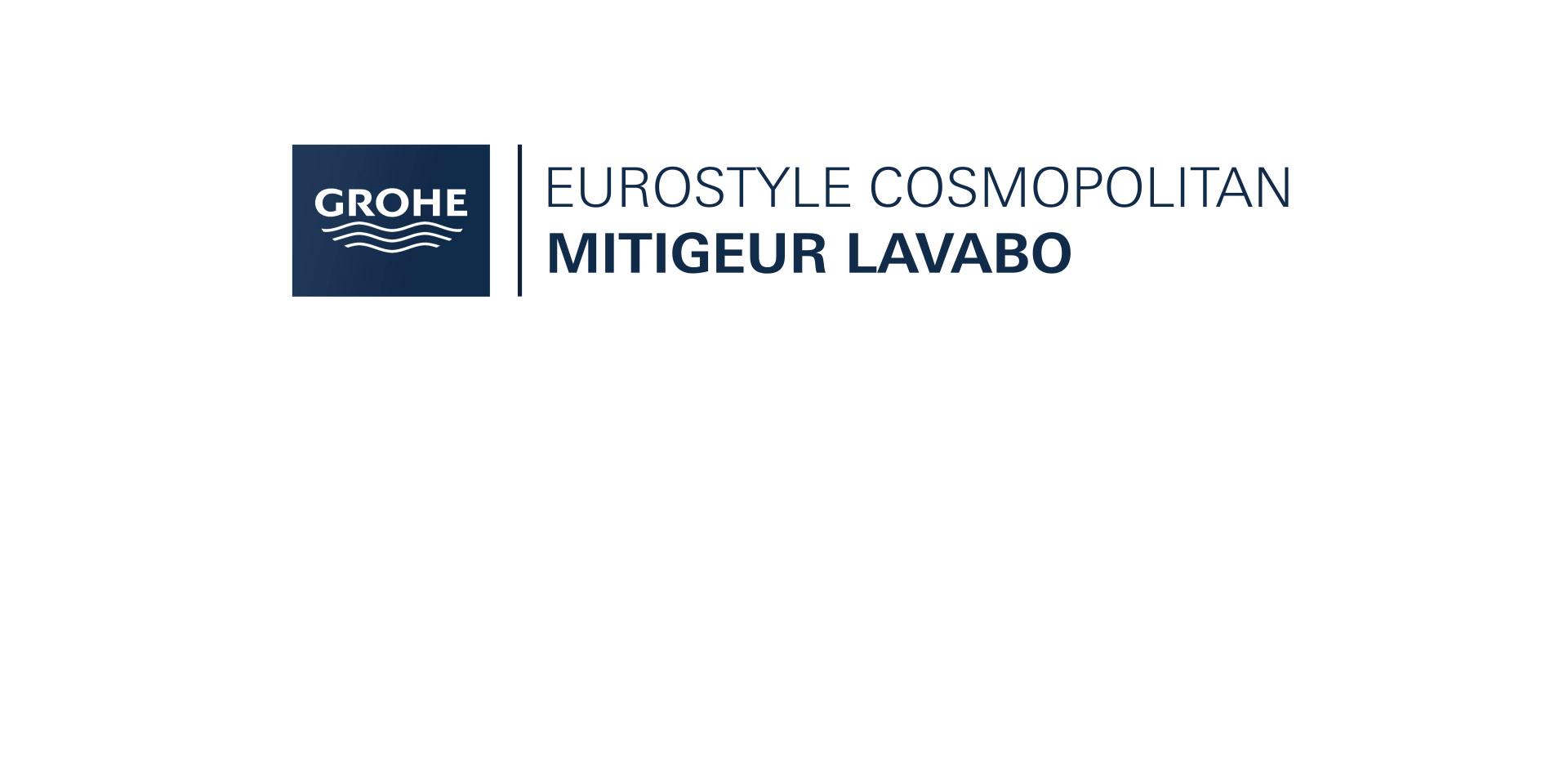 Mitigeur Lavabo Taille S Eurostyle Cosmopolitan Chroméde Grohe