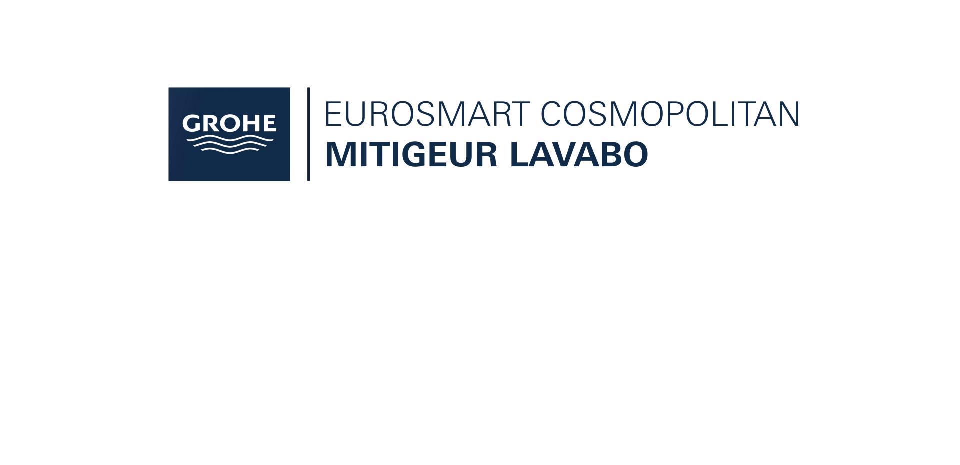 Mitigeur Lavabo Taille S Eurosmart Cosmopolitan Chromé de Grohe
