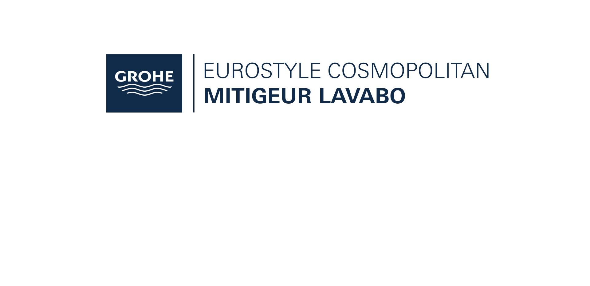 Mitigeur Lavabo Taille S Eurostyle Cosmopolitan Chromé de Grohe