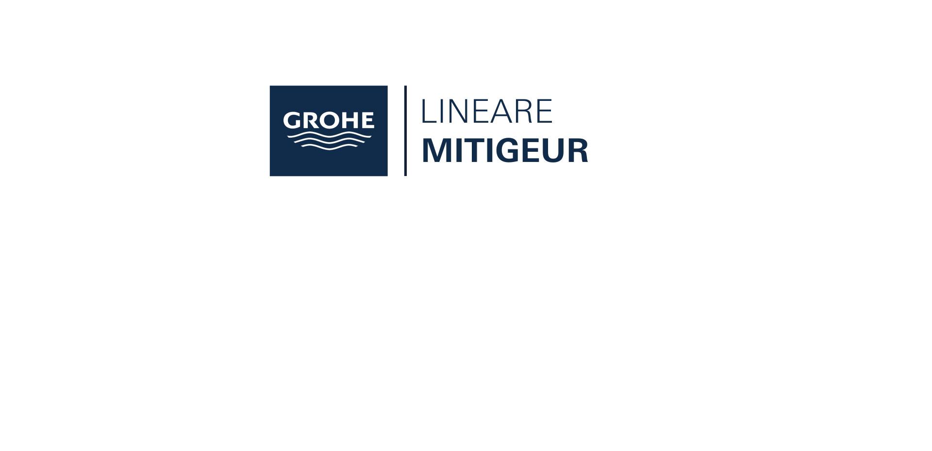Mitigeur monocommande Lavabo Taille L Lineare Chromé de Grohe