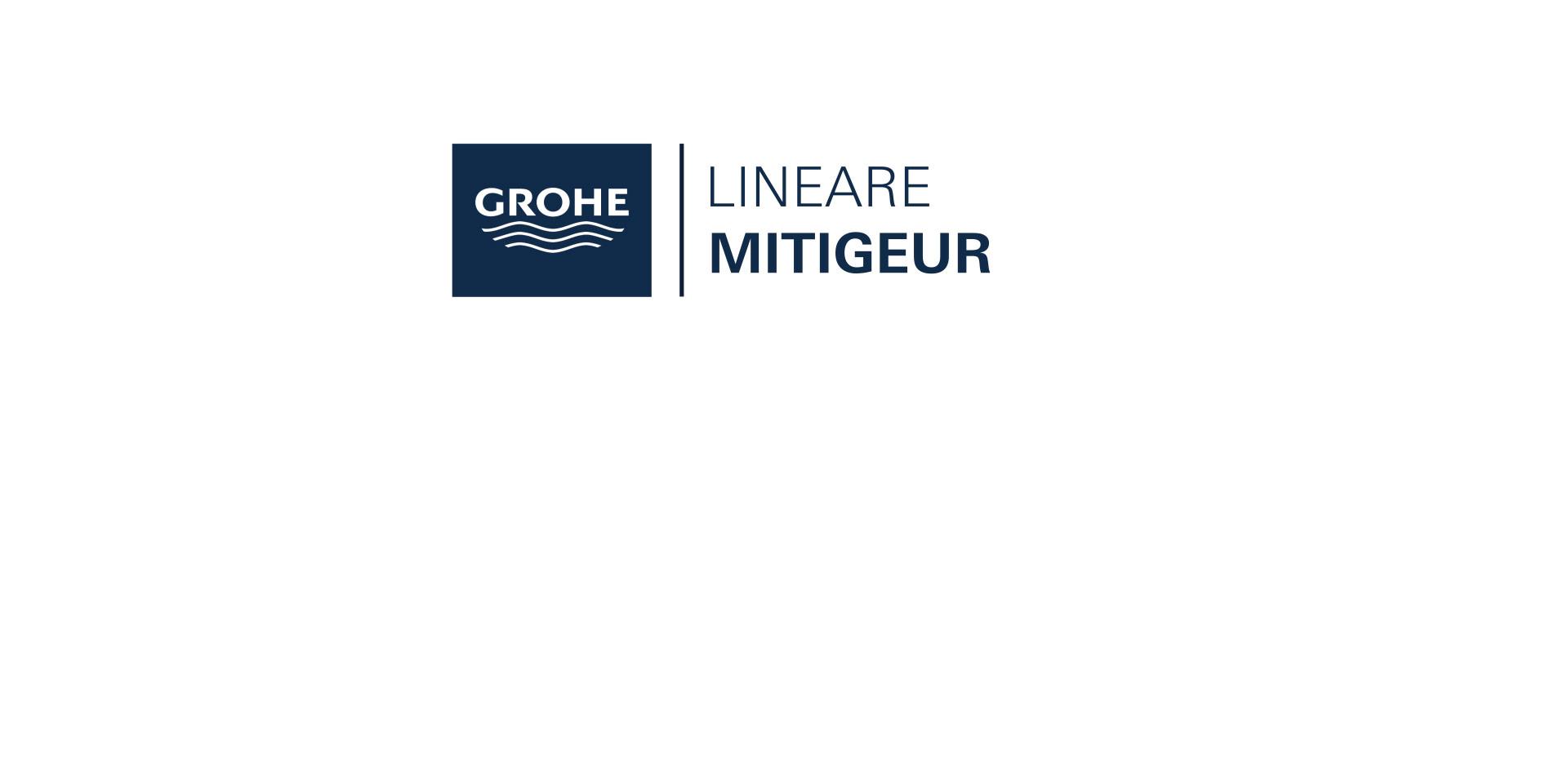 Mitigeur monocommande Lavabo Taille XL Lineare Chromé de Grohe