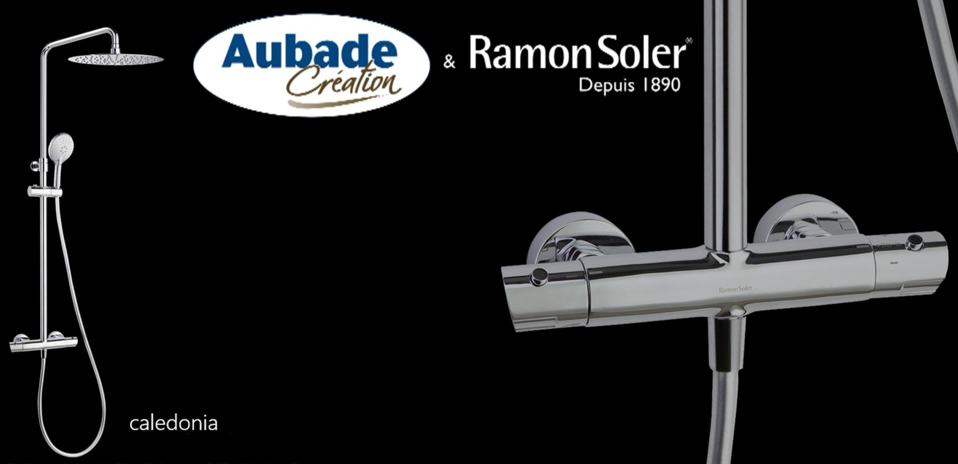 Ramon Soler - Colonne de douche thermostatique Caledonia